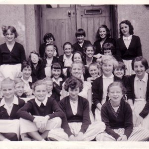 Pupils who joined Penzance Grammar School for Girls in September 1959