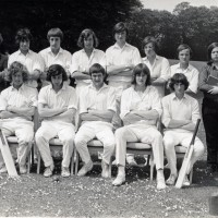 Cricket 1st Team 1973