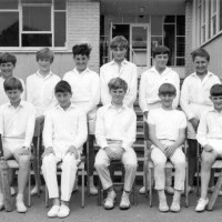 U13 Cricket Team 1966