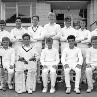 U15 Cricket Team 1966