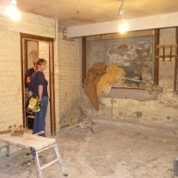 September 2010 work started on converting the old bank into the Vault Bar