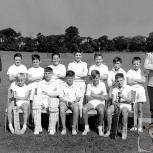 U13 Cricket Team 1960