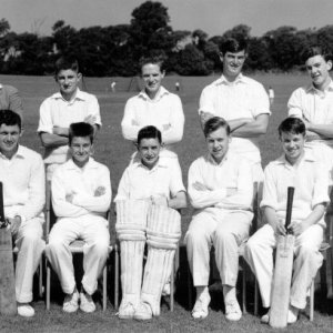 U15 Cricket Team 1960