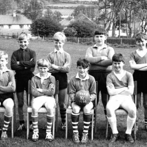 1st Year Football Team 1966