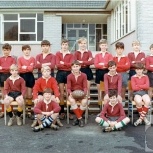 U13 Rugby Team 1966 (Undefeated)