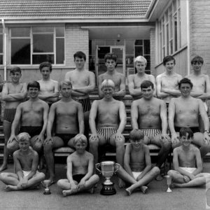 Swimming Team 1966