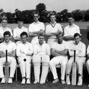 Cricket 2nd Team 1960