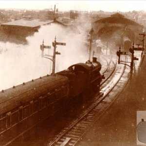 Steam trains in Penzance